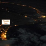 Beer Sheva From Space Station