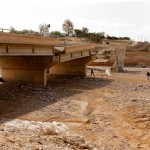 Negev bridge came tumbling down