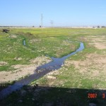 Wadi Hebron Converging with Wadi Beer Sheva