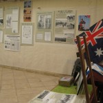 ANZAC Display at HaMaKoM Bible House