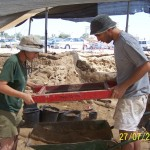 Dig of Excavations Near Shuk - 2005