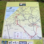 ANZAC Trail Map - 2012