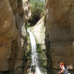 Hidden Falls found! - Wadi Arugot - 27July13