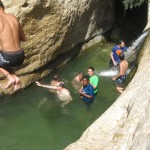 Jump in! - Wadi Arugot - 27July13